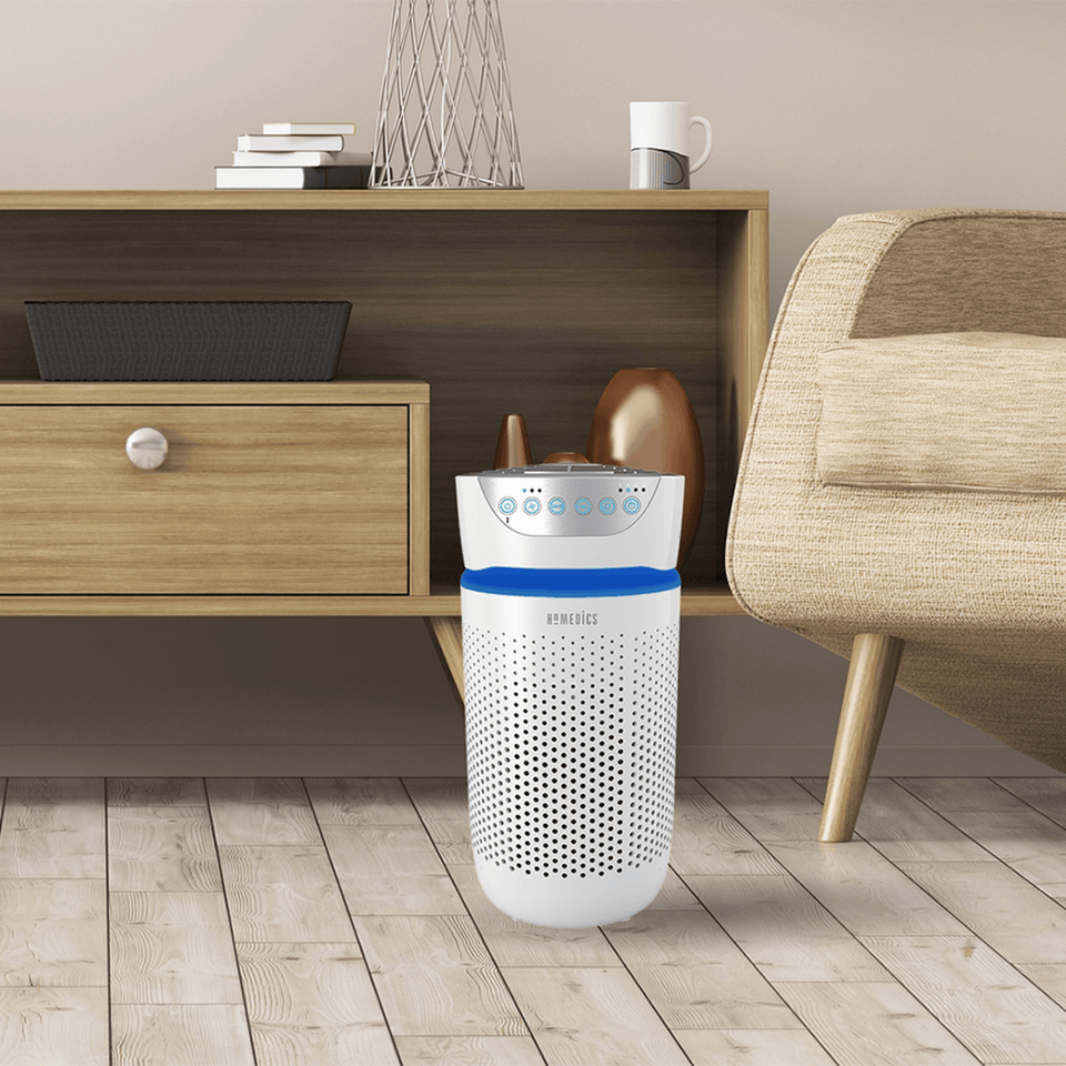 HoMedics TotalClean® 5-in-1 UV Small Room Air Purifier