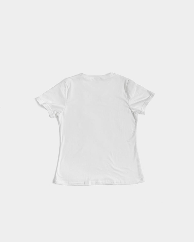 Load image into Gallery viewer, rainbow pride women's tee - above the curve;