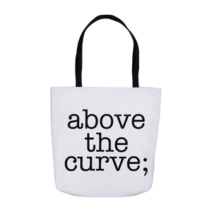 atc; tote bag - above the curve;
