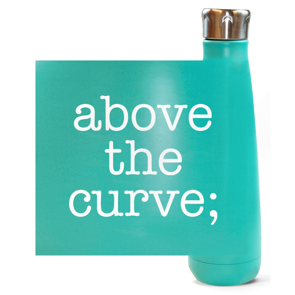 atc; peristyle water bottles - above the curve;