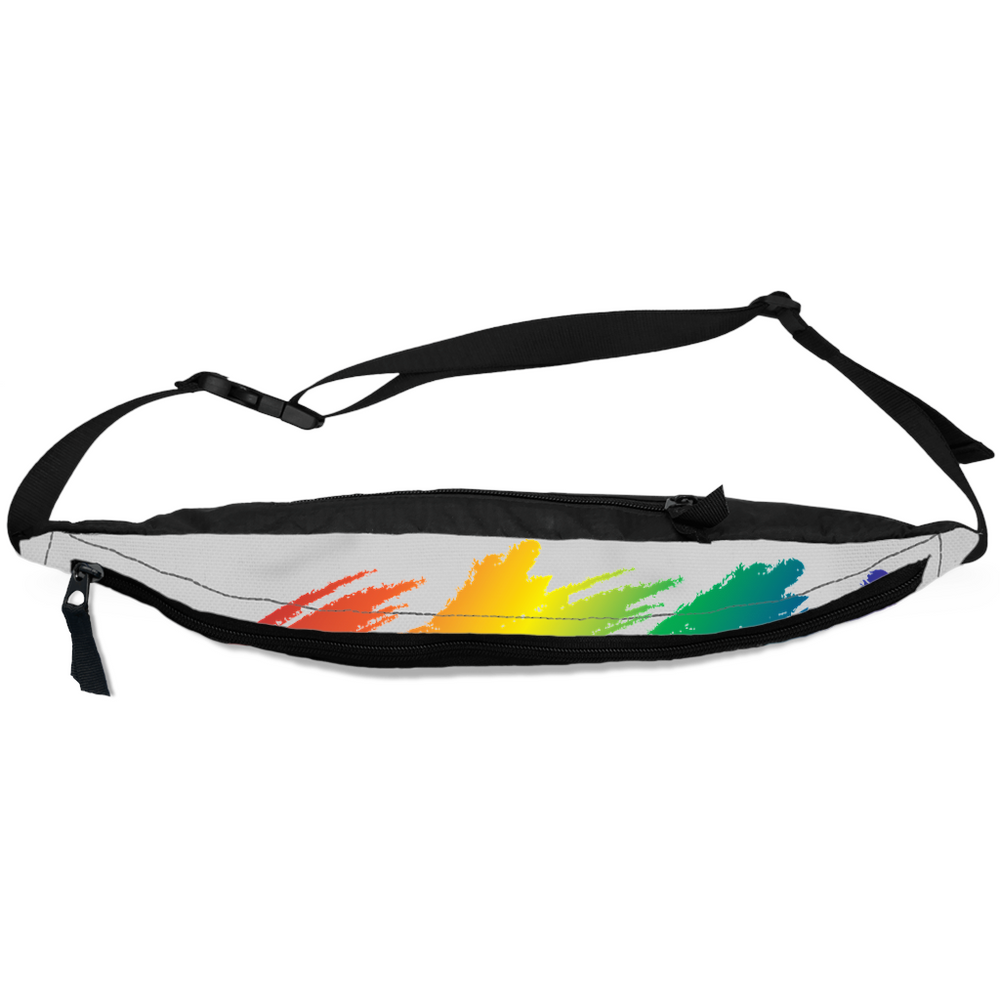 Load image into Gallery viewer, rainbow pride fanny packs - above the curve;