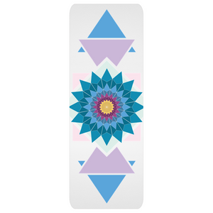abstract hipster yoga mats - above the curve;