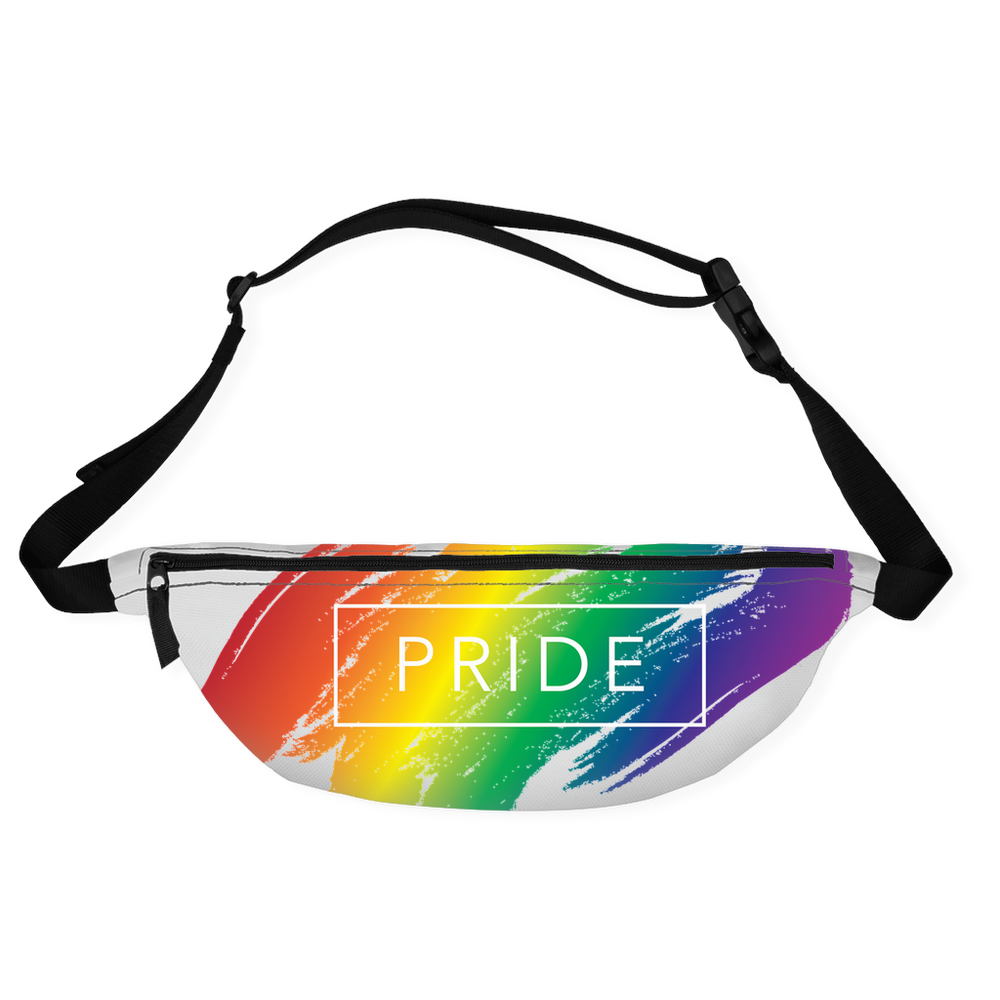 rainbow pride fanny packs
