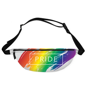 rainbow pride fanny packs - above the curve;