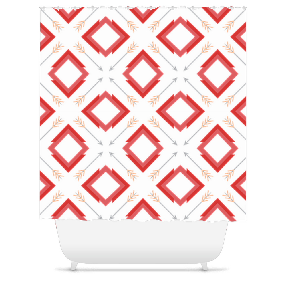 four corner's shower curtains - above the curve;
