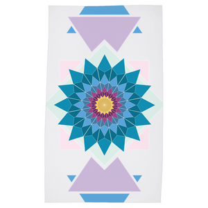 abstract hipster tea towels - above the curve;