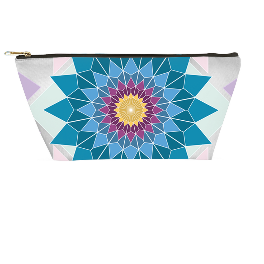 abstract hipster accessory pouches - above the curve;