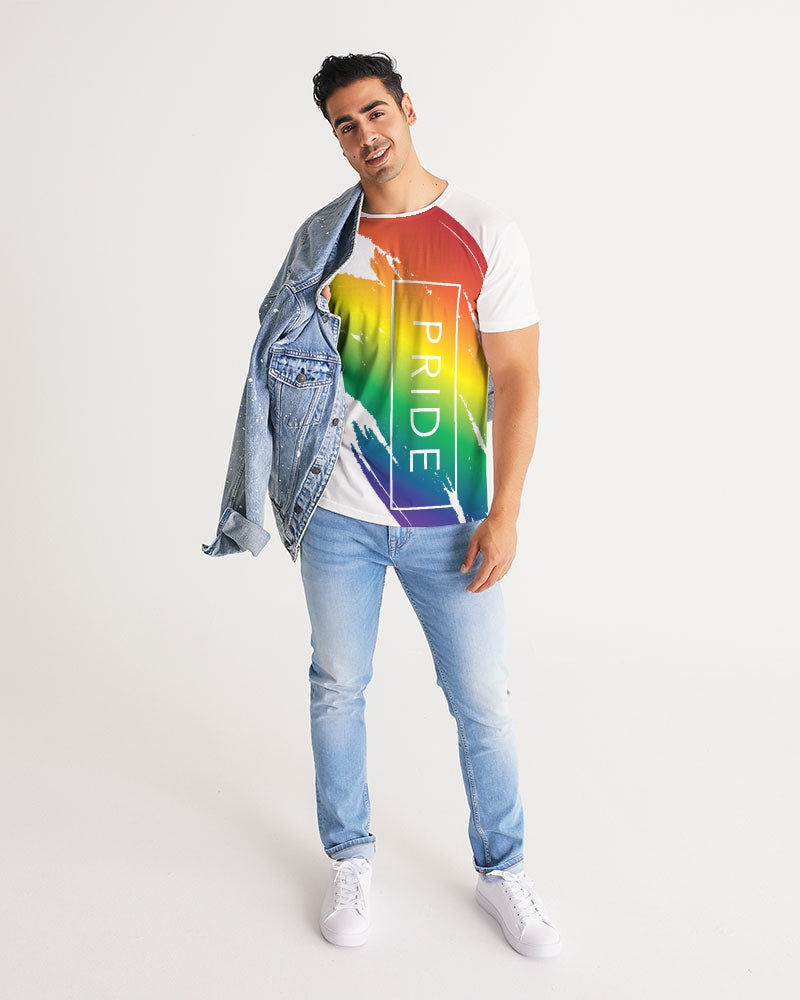 pride love Men's Tee - above the curve;