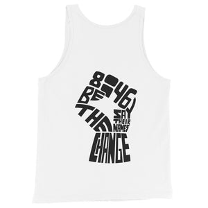 Load image into Gallery viewer, love wins BLM unisex tank top - above the curve;