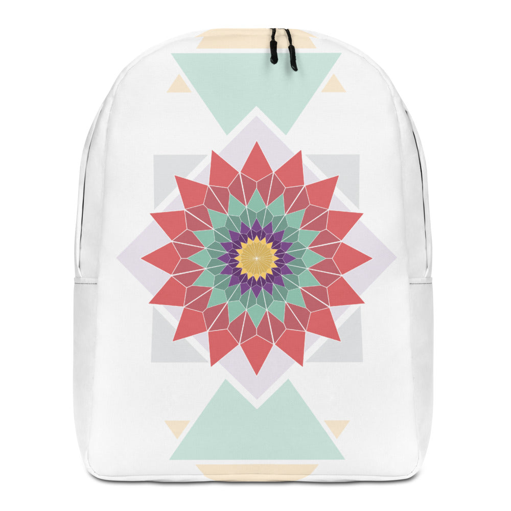 abstract hipster minimalist backpack