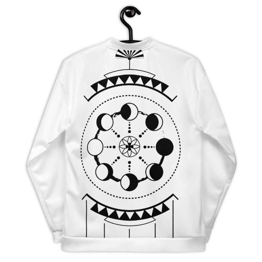 dream eclipse unisex bomber jacket - above the curve;