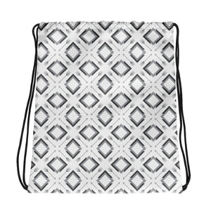 four corner's drawstring bag - above the curve;