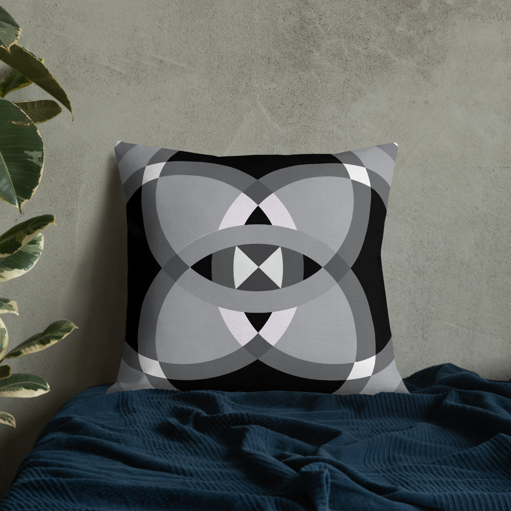 Load image into Gallery viewer, mandala 2.0 premium pillow - above the curve;