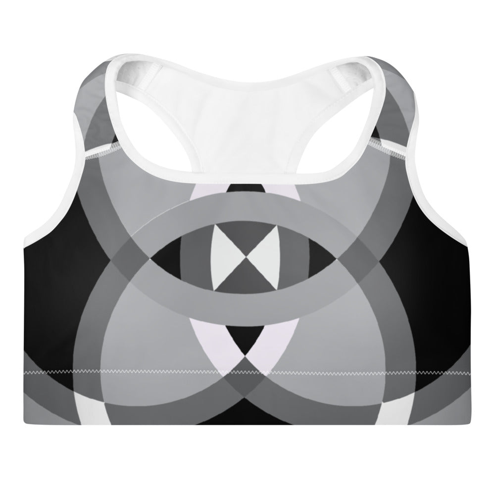 Load image into Gallery viewer, mandala 2.0 padded sports bra - above the curve;