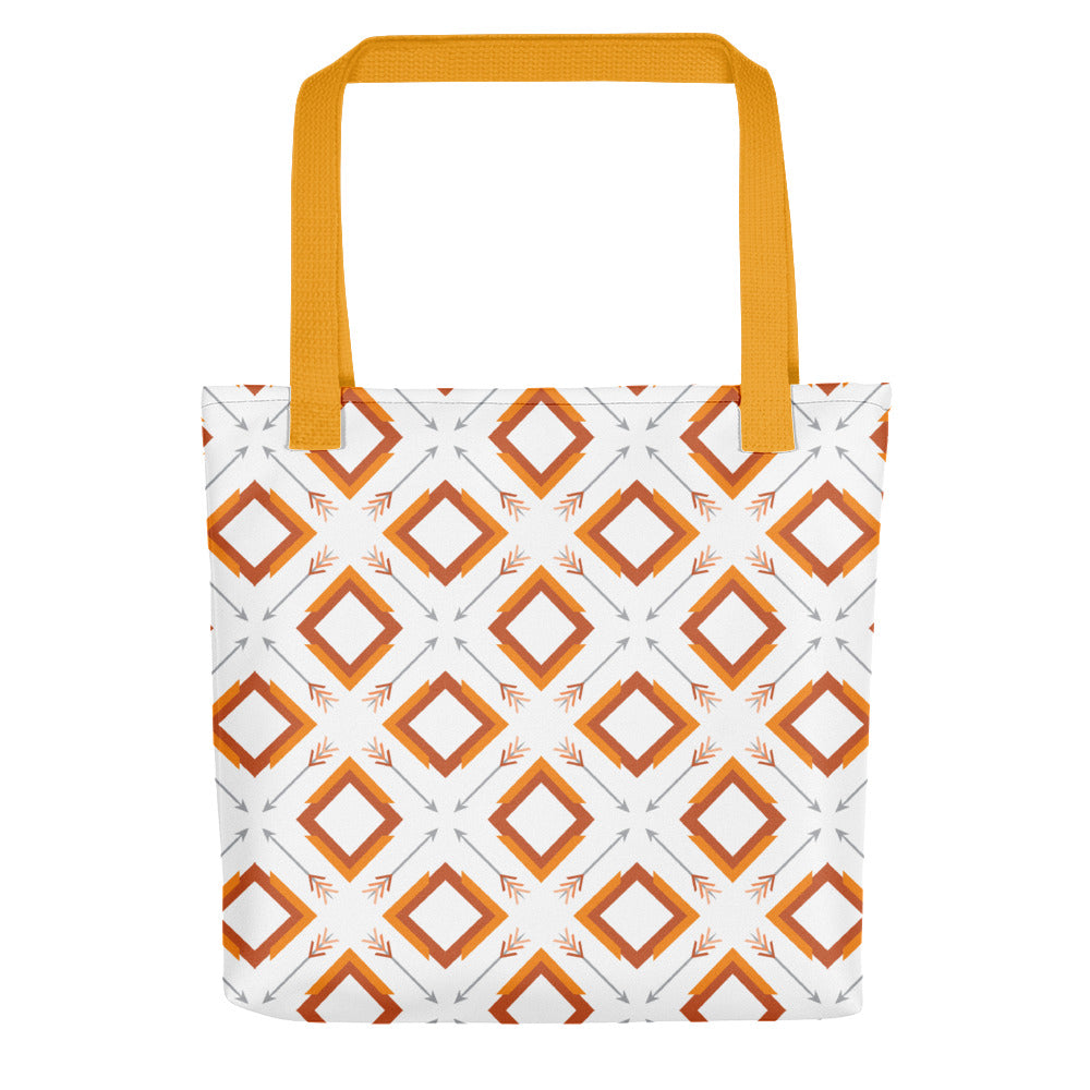 four corner's tote bag