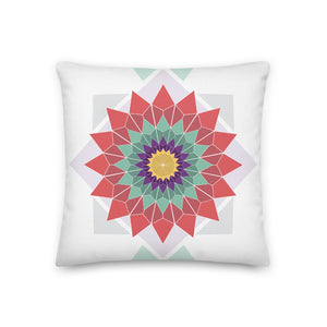 abstract hipster premium pillow - above the curve;