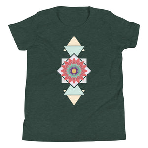 abstract hipster youth short sleeve t-shirt - above the curve;