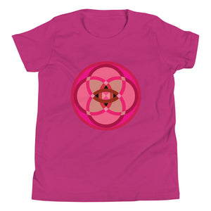 mandala 2.0 youth short sleeve t-shirt - above the curve;