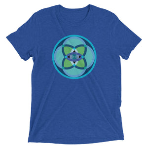 mandala 2.0 unisex short sleeve t-shirt - above the curve;