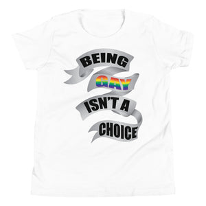 being gay youth short sleeve t-shirt - above the curve;