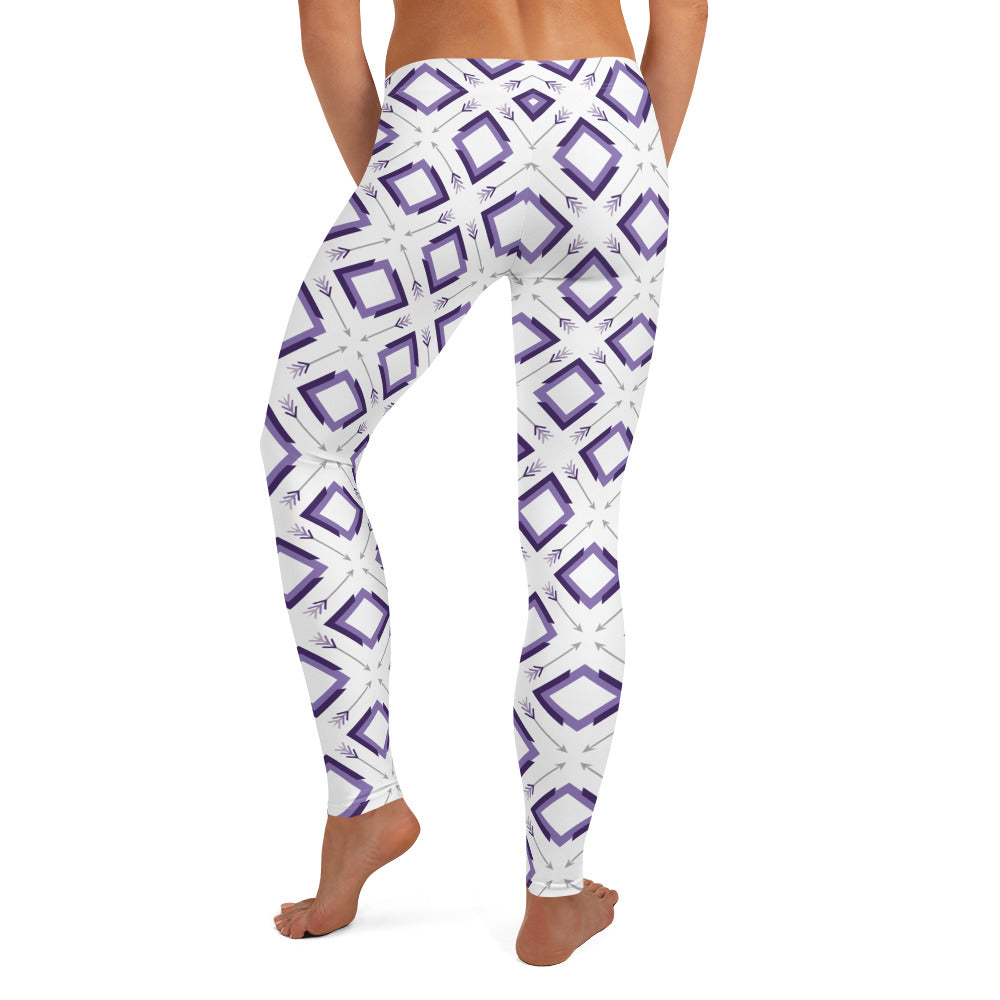 Load image into Gallery viewer, four corner's leggings - above the curve;