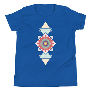 Load image into Gallery viewer, abstract hipster youth short sleeve t-shirt - above the curve;
