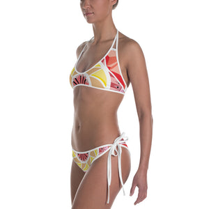 Load image into Gallery viewer, aztec kaleidoscope bikini - above the curve;