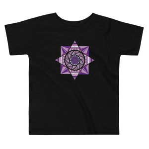 aztec kaleidoscope toddler short sleeve tee - above the curve;