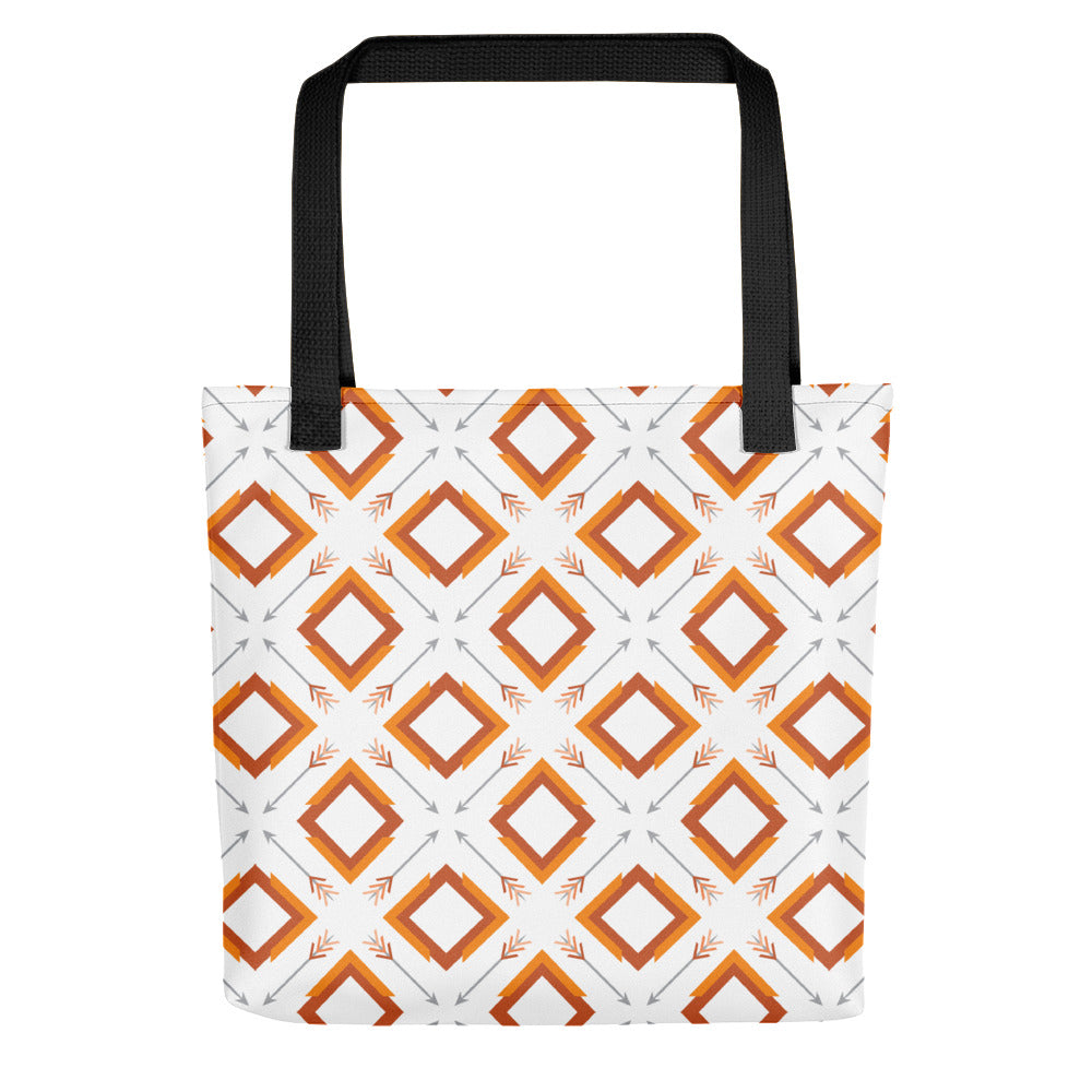 four corner's tote bag - above the curve;