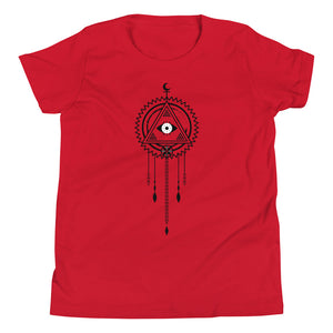 Load image into Gallery viewer, dream seer youth short sleeve t-shirt - above the curve;