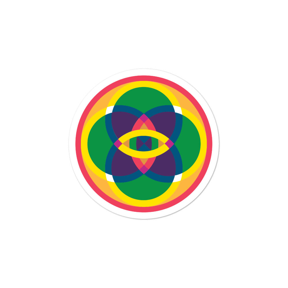 mandala 2.0 bubble-free stickers
