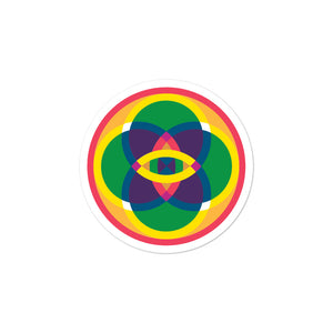 mandala 2.0 bubble-free stickers - above the curve;