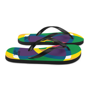 mandala 2.0 flip-flops - above the curve;