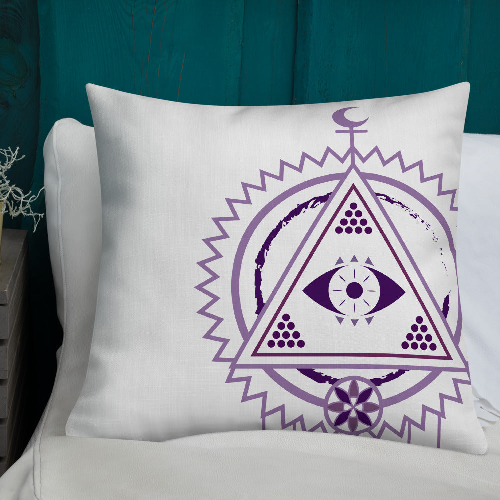 dream seer premium pillow - above the curve;