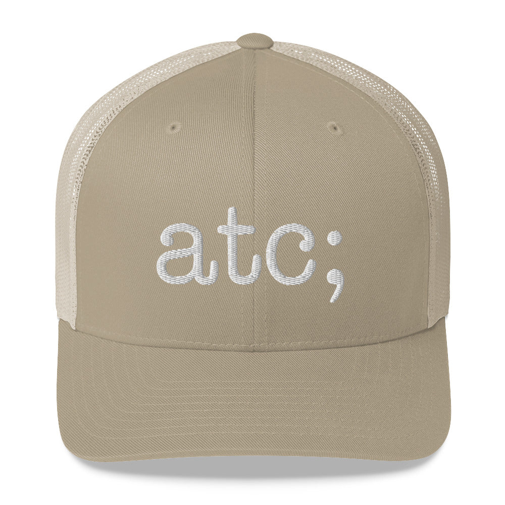 atc; trucker cap - above the curve;