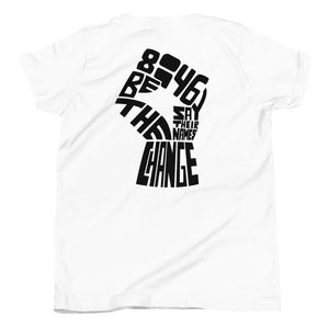 Load image into Gallery viewer, love wins BLM youth short sleeve t-shirt - above the curve;