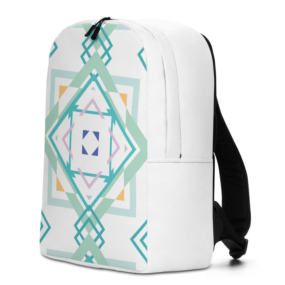 aztec hipster minimalist backpack - above the curve;