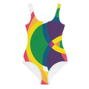 mandala 2.0 all-over print youth swimsuit - above the curve;