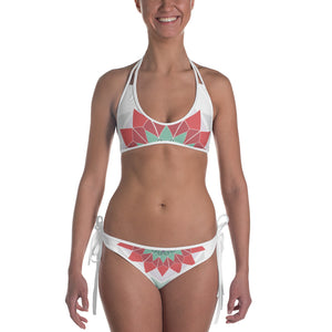 abstract hipster bikini - above the curve;