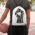 blm drawstring bag