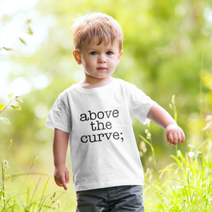 atc; toddler short sleeve tee - above the curve;