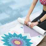abstract hipster yoga mats