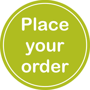 green place your order icon