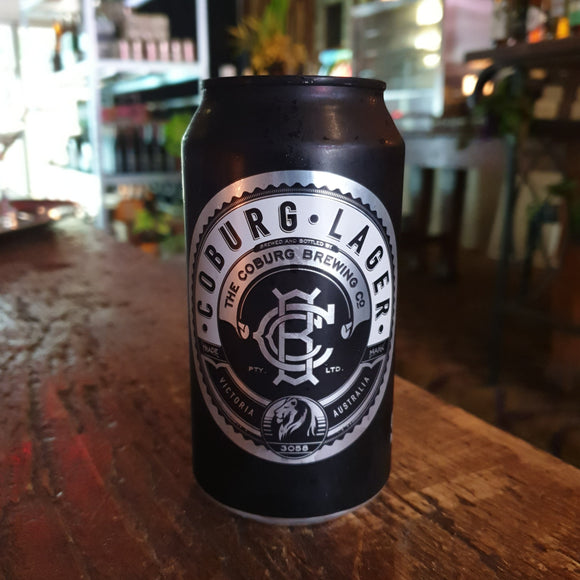 Coburg Lager Can 375ml 4.6%