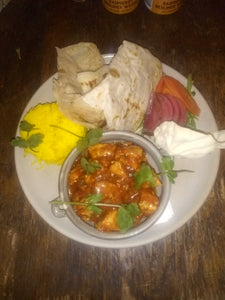 Chef Special ~ Cauliflower, Adjuki Beans & Sweet potato Curry