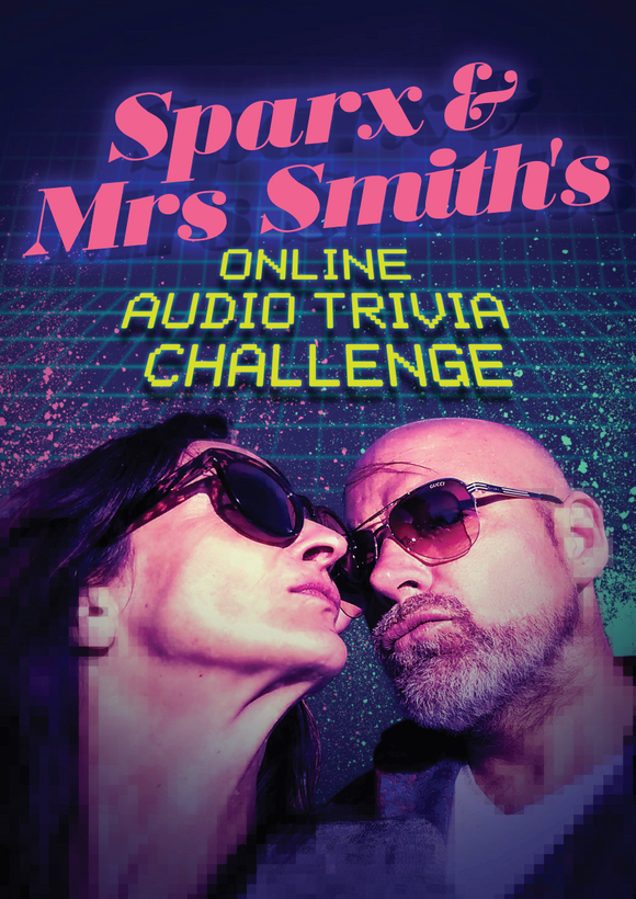 TRIVIA with Sparx and Mrs Smith - 8pm Wednesday July 15