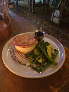 Chef's special ~ Chicken Leek & Mushroom Pie
