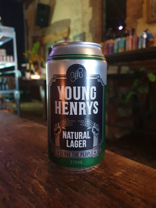 Young Henrys Natural Lager Can 375ml 4.2%