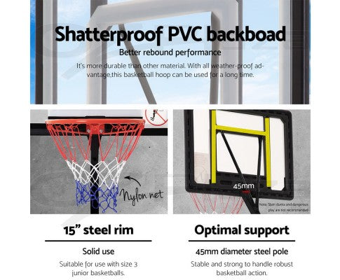 Adjustable Basketball Hoop Stand