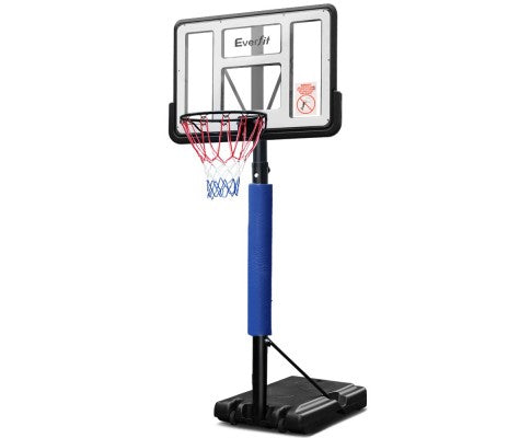 3.05M Adjustable Basketball Hoop Stand - Blue or Black